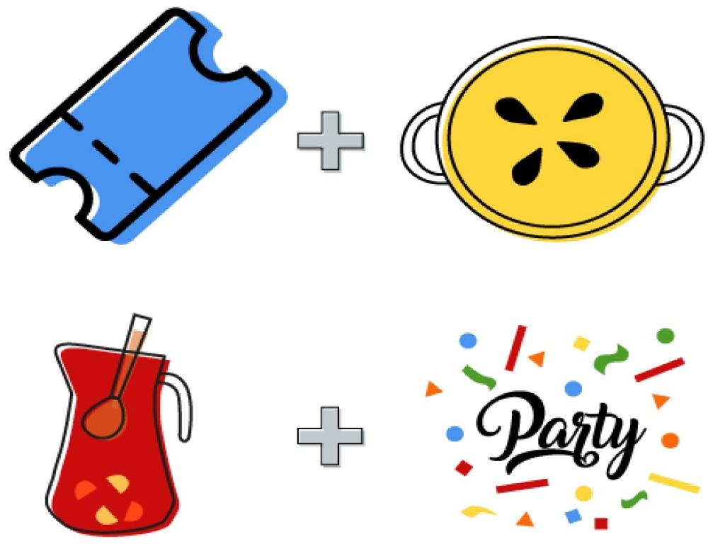 <p>Tomatina Ticket 2020 + Paella + Drink + Tomatina Party</p>