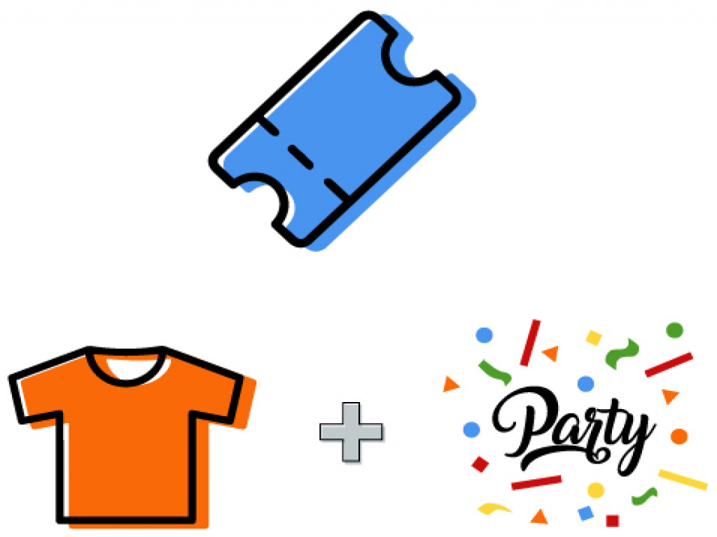 Tomatina Ticket 2020+ T-Shirt + Tomatina Party