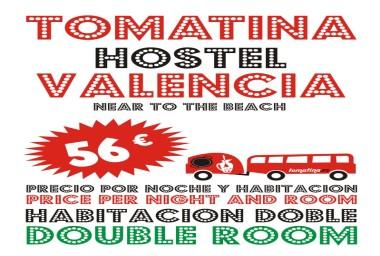 <p>Tomatina Hostel HABITACION DOBLE</p>
