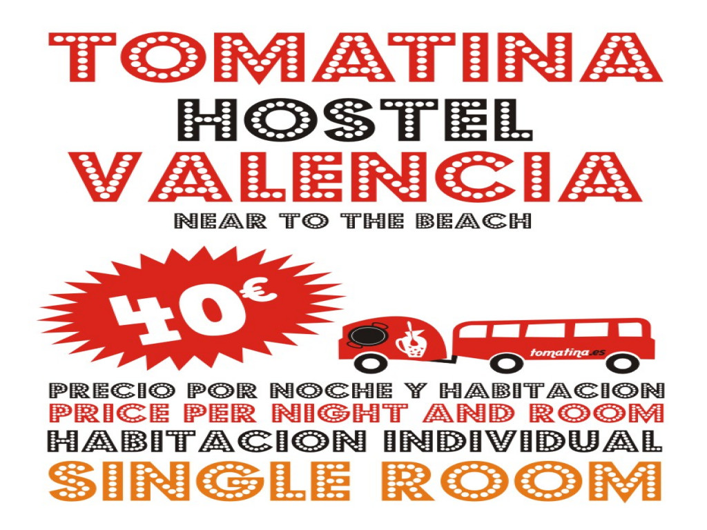 Tomatina Hostel SINGLE ROOM