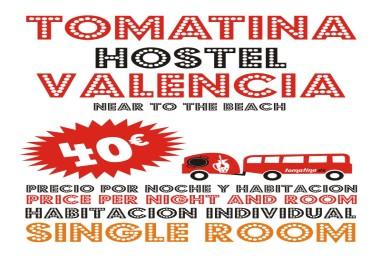 <p>Tomatina Hostel HABITACION INDIVIDUAL</p>