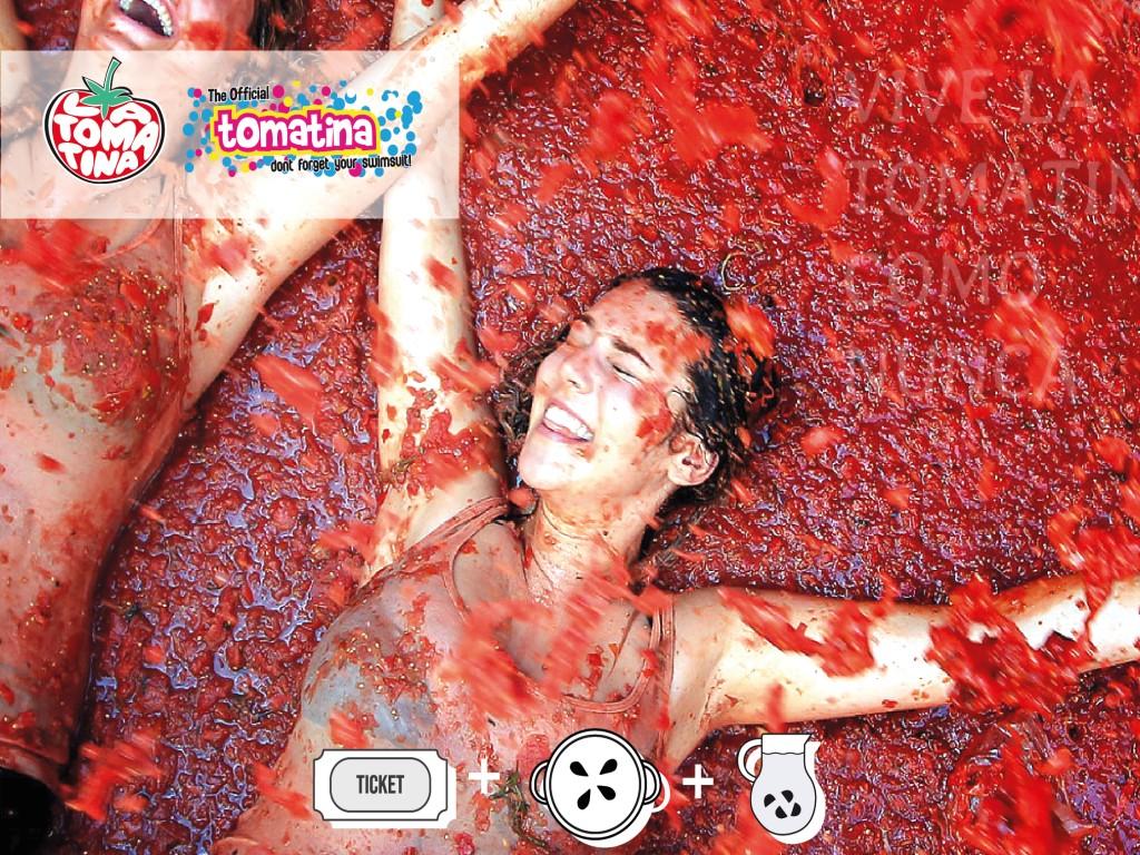 Tomatina 2020Ticket + Paella + Sangria + TomatinaParty30€