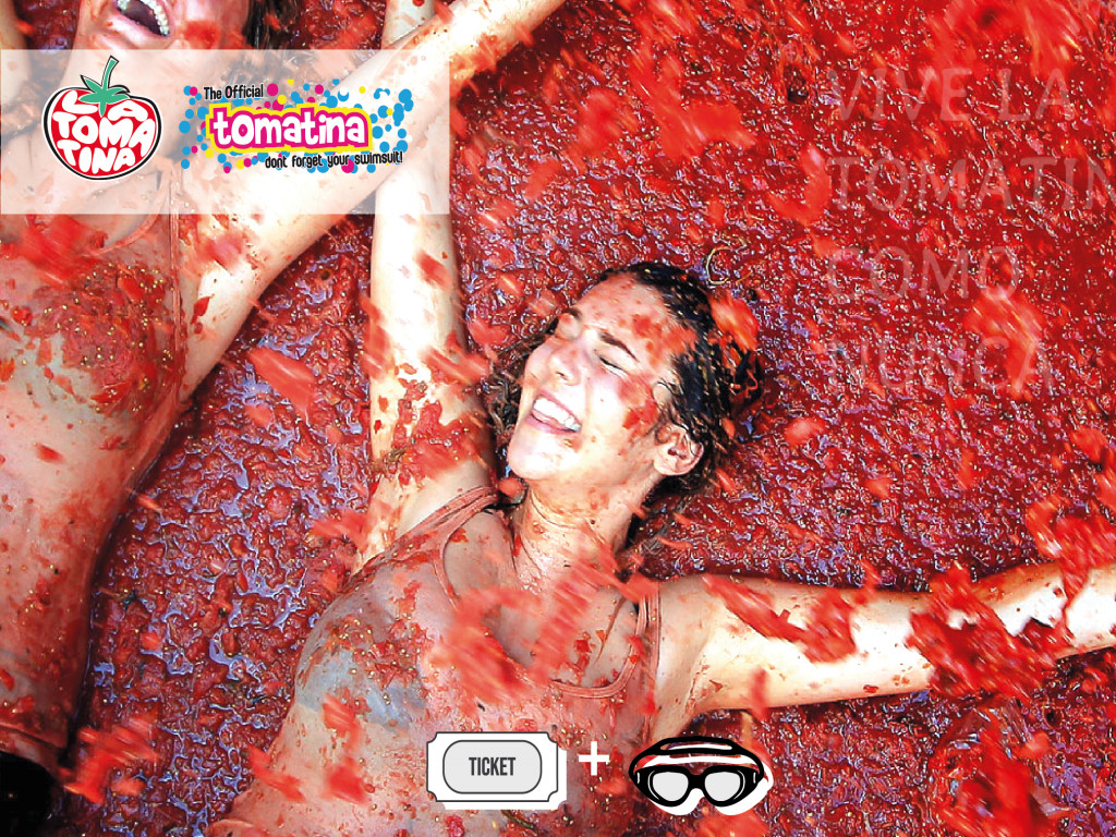 Tomatina 2020Ticket+ Accessories for the Battle27€